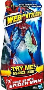 Amazing Spider-Man Movie Web Battlers Action Figure Web Blade Spider-Man
