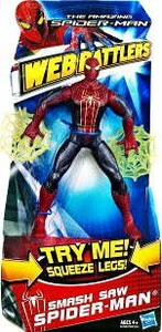Amazing Spider-Man Movie Web Battlers Action Figure Smash Saw Spider-Man