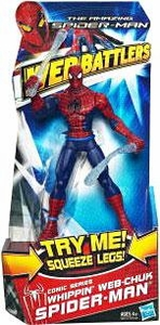 Amazing Spider-Man Movie Web Battlers Action Figure Comic Series Whipping Web Chuk Spider-Man