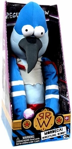 Regular Show 20 Inch Wrestling Buddies Plush Mordecai