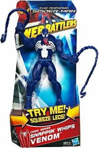 Amazing Spider-Man Movie Web Battlers Action Figure Comic Series Snappin' Whips Venom