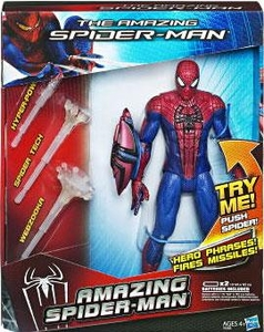 Amazing Spider-Man Movie Electronic Action Figure Spider-Man