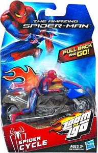 Amazing Spider-Man Movie Zoom N Go Vehicle Spider Cycle