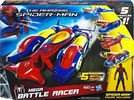 Amazing Spider-Man Movie Vehicle Mega Battle Racer