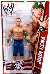 Mattel WWE Wrestling Basic Series 24 Action Figure #1 John Cena BLOWOUT SALE!