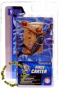 McFarlane Toys NBA 3 Inch Sports Picks Series 4 Mini Figure Vince Carter (New Jersey Nets)