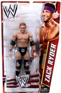 Mattel WWE Wrestling Basic Series 24 Action Figure #3 Zack Ryder