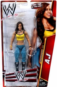 Mattel WWE Wrestling Basic Series 24 Action Figure #6 AJ