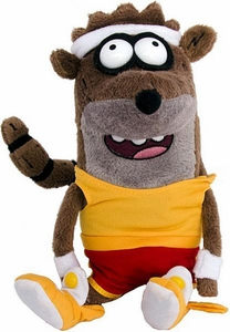 Regular Show 7 Inch Plush Rigby [Basketball Uniform]
