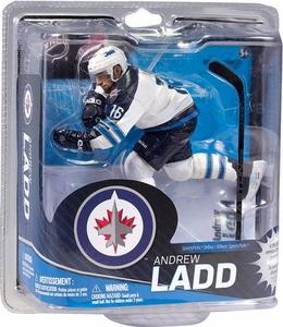 McFarlane Toys NHL Sports Picks Series 31 Action Figure Andrew Ladd (Winnipeg Jets) White Jersey