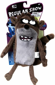 Regular Show 9 Inch Deluxe Pullstring Plush Rigby