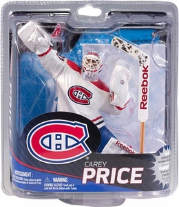 McFarlane Toys NHL Sports Picks Series 31 Action Figure Carey Price (Montreal Canadiens) White Jersey