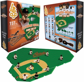 OYO Baseball MLB Generation 1 Team Field Game Time Set Baltimore Orioles