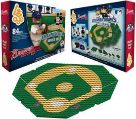 OYO Baseball MLB Generation 1 Team Field Infield Set Atlanta Braves