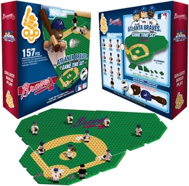 OYO Baseball MLB Generation 1 Team Field Game Time Set Atlanta Braves