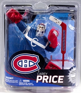 McFarlane Toys NHL Sports Picks Series 31 Action Figure Carey Price (Montreal Canadiens) Blue Retro Jersey Collector Level Only 500 Made!