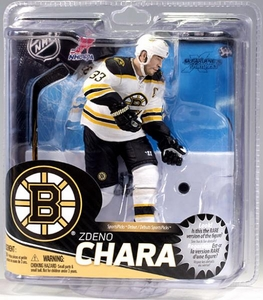 McFarlane Toys NHL Sports Picks Series 31 Action Figure Zdeno Chara (Boston Bruins) White Jersey Collector Level BLOWOUT SALE! Only 1,000 Made!