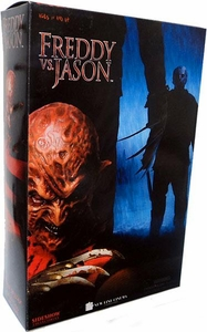 Sideshow Collectibles Freddy VS. Jason 12 Inch Action Figure Freddy