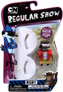 Regular Show 3 Inch Action Figure Retro Rigby [With the Best 80's Sunglasses in the Universe]