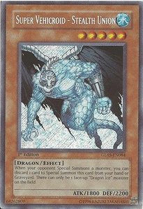 YuGiOh GX Gladiator's Assault Single Card Secret Rare GLAS-EN084 Dragon Ice [Misprint!]