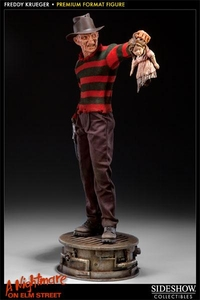 A Nightmare on Elm Street Sideshow Collectibles 1:4 Scale Premium Format Figure Freddy Krueger