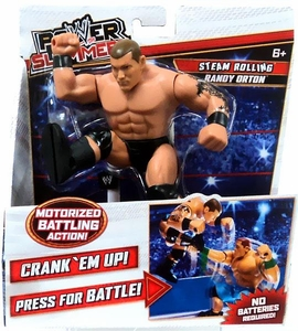 WWE Wrestling Power Slammers Action Figure Randy Orton [Steam Rolling]