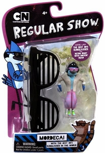 Regular Show 3 Inch Action Figure Mordecai [With the Best 80's Sunglasses in the World]