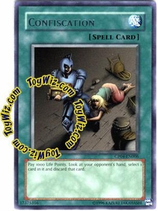 YuGiOh GX Champion Pack Game Four Single Card Rare CP04-EN006 Confiscation