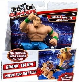 WWE Wrestling Power Slammers Action Figure John Cena [Thunder Twisting]