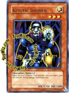 YuGiOh GX Champion Pack Game Four Single Card Rare CP04-EN010 Kinetic Soldier