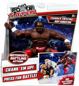 WWE Wrestling Power Slammers Action Figure Kofi Kingston [Thunder Twisting]