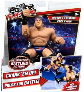 WWE Wrestling Power Slammers Action Figure Zack Ryder [Thunder Twisting]