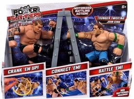 WWE Wrestling Power Slammers Starter 2-Pack John Cena & Randy Orton [Steam Rolling & Thunder Twisting]