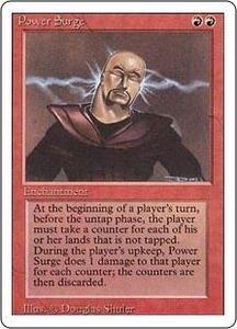 Magic the Gathering Revised Edition Single Card Rare Power Surge