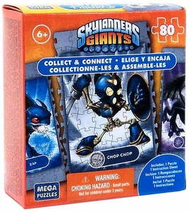 Mega Puzzles Skylanders Giants 80 Piece Puzzle Chop Chop BLOWOUT SALE!