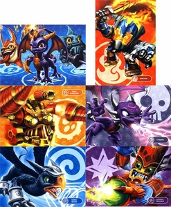 Mega Puzzles Set of all 6 Series Skylanders Giants 50 Piece Puzzles