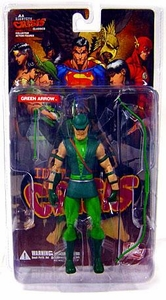 DC Direct JLA Identity Crisis Classics Action Figure Green Arrow