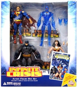 DC Direct Infinite Crisis Action Figure 4-Pack Box Set [Superman, Batman, Wonder Woman & Omac]