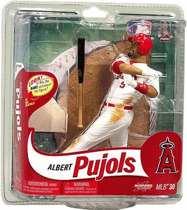 McFarlane Toys MLB Sports Picks Series 30 Action Figure Albert Pujols (St. Louis Cardinals) White Uniform Bronze Collector Level Only 2,000 Made!