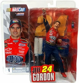 McFarlane Toys NASCAR Series 1 Action Figure Jeff Gordon [No Hat/Glasses Variant]