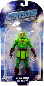 DC Direct Crisis on Infinite Earths Series 2 Action Figure Battle Armor Lex Luthor BLOWOUT SALE!