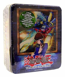 YuGiOh 2003 Tin Set Kaiba's XYZ Dragon Cannon Sealed Tin