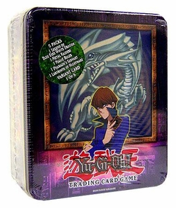 YuGiOh 2003 Tin Set Kaiba's Blue Eyes White Dragon Sealed Tin