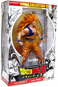 Dragon Ball Z Series 19 Movie Collection 9 Inch Deluxe Action Figure SS3 Goku