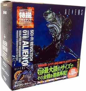 Aliens Revoltech #018 Sci-Fi Super Poseable Action Figure Alien Queen Pre-Order ships April
