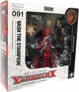 Trigun Revoltech #091 Yamaguchi Super Poseable Action Figure Vash the Stampede