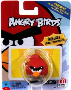Mattel Angry Birds Mini Figure Red Bird
