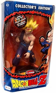 Dragonball Z Collector�s Edition 9 Inch Action Figure SS Gohan Package Has Minor Shelf Wear!
