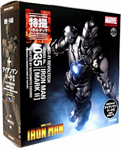 Iron Man Revoltech #035 Sci-Fi Super Poseable Action Figure Iron Man [Mark II]
