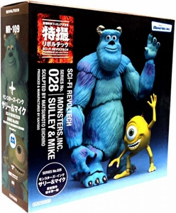 Disney Pixar Monsters, Inc. Revoltech #028 Super Poseable Action Figure Sulley & Mike
